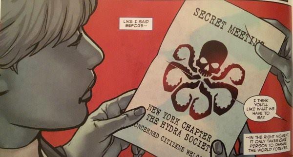 Steve Rogers se alista na Hydra