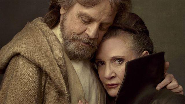 Luke Skyawlker e Leia Organa