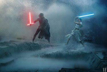 Sith vs Jwdi em A Ascensão Skywalker